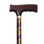 Travel Folding Cane - Paisley