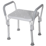 Adjustable Shower Bath Chair Seat