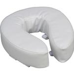 Vinyl Cushion Toilet Seat