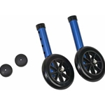 "5"" Non-Swivel Walker Wheels & Glide Caps"