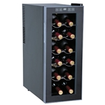 Sunpentown 12 Bottle ThermoElectric Slim Wine Cooler