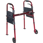 Drive Medical Deluxe Portable Folding Travel Walker