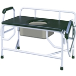 Drive Medical Super Heavy Duty Bariatric Drop Arm Commode