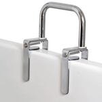 Carex Bathtub Rail With Chrome Finish