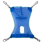 Drive Medical Full Body Patient Lift Sling with Commode Cutout