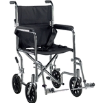 Drive Medical Go Cart Lightweight Transport Wheelchair