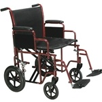 Drive Medical Bariatric Heavy Duty Transport Wheelchair