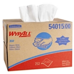 Kimberly Clark WypAll X60 Wipers, Pop-Up Box