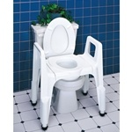 Carex Composite 3-in-1 Commode