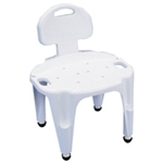 Carex Adjustable Composite Shower Seat