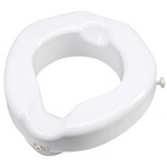 Carex Safe Lock Raised Toilet Seat