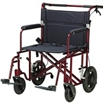 Drive Medical Bariatric Aluminum Transport Chair