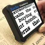 Explora Portable Electronic Magnifier