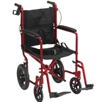 Drive Medical Expedition Deluxe Aluminum Transport Chair