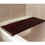 Invisia Brazilian Walnut Bath Bench