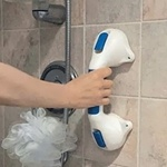 Bathtub & Shower Suction Mount Handle