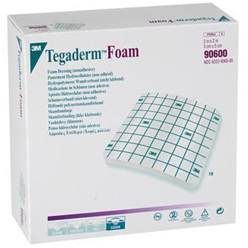3m tegaderm foam non adhesive dressing at. Black Bedroom Furniture Sets. Home Design Ideas