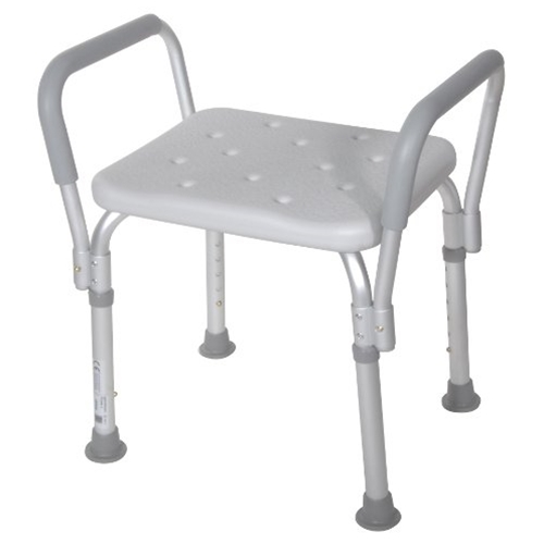 Drive Medical Shower Bench With Removable Padded Arms At