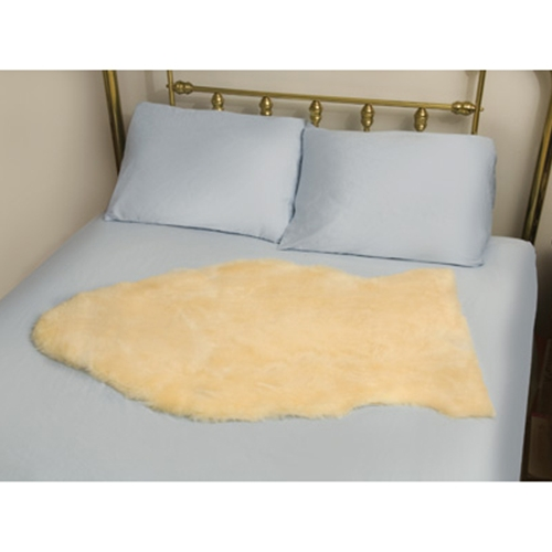Deluxe Natural Sheepskin Mattress Bed Pad At Healthykin Com