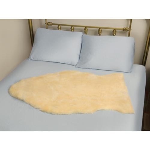 deluxe natural sheepskin mattress bed pad at healthykin