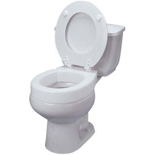 Ableware Hinged Elevated Toilet Seat At Healthykin Com