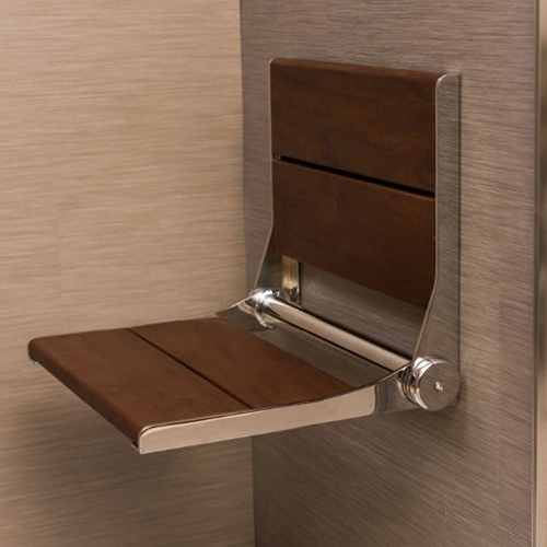 Invisia SerenaSeat Wall Mounted Shower Seat - Free Shipping at ...