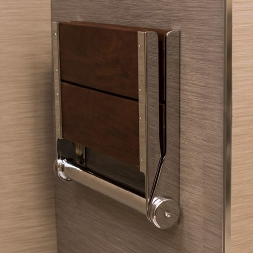 Invisia Serenaseat Wall Mounted Shower Seat Free