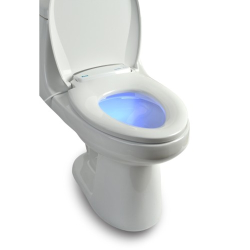 Brondell Lumawarm Heated Nightlight Toilet Seat At