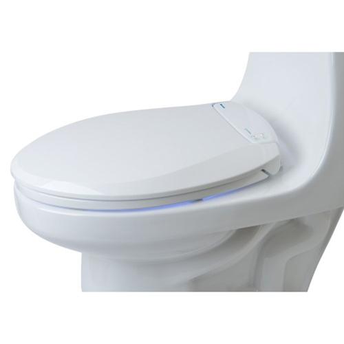 Lumawarm Elongated Heated Nightlight Toilet Seat In White