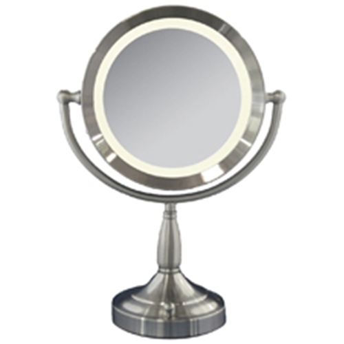 Zadro Dimmable Lighted 1x 8x Magnification Mirror Free