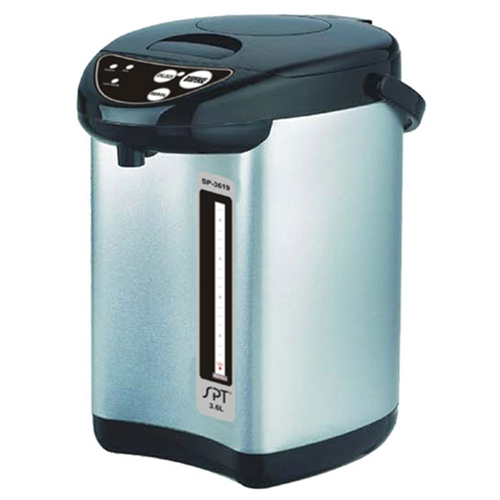 Sunpentown 3.6 Liter Hot Water Pot with Dual Pump System