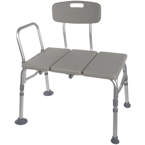 McKesson Transfer Bench with Adjustable Backrest at HealthyKin.com