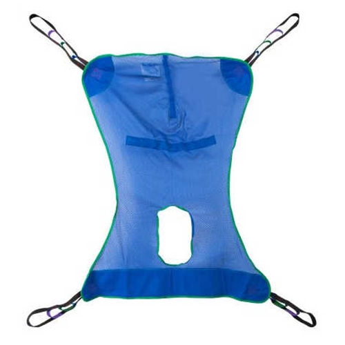 McKesson Full Body Patient Lift Sling with Commode Cutout