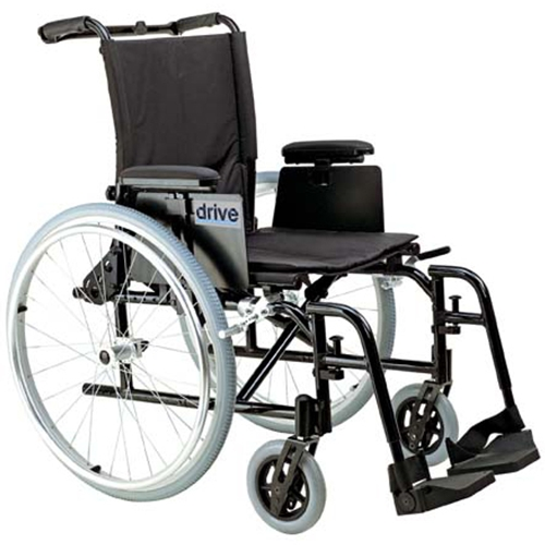 drive medical cougar ultra lightweight rehab wheelchair at. Black Bedroom Furniture Sets. Home Design Ideas