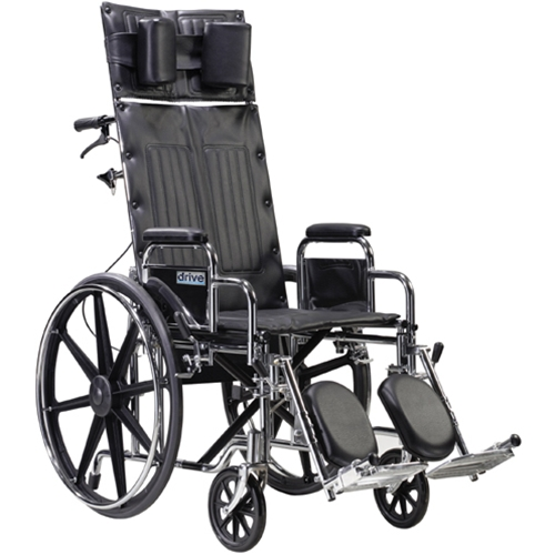 Drive Medical Sentra Reclining Wheelchair At Healthykin Com