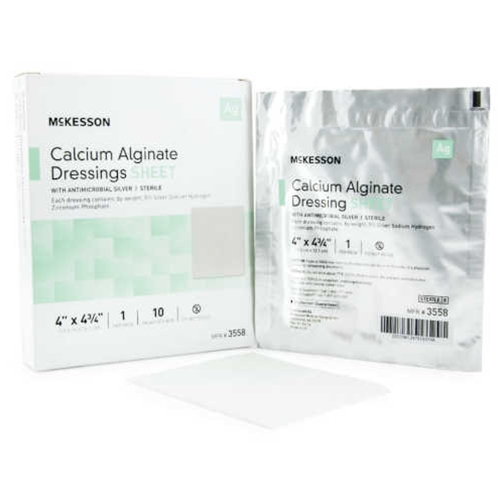 McKesson Calcium Alginate Dressing with Antimicrobial Silver