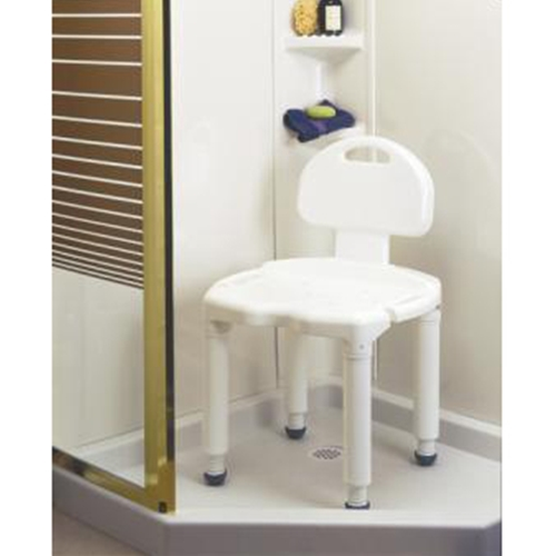 Carex Universal Bath Bench with Back at HealthyKin.com
