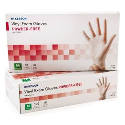 Mckesson Powder Free Vinyl Exam Gloves At Healthykin Com