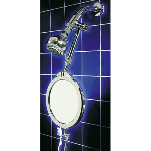 zadro z 39 fogless dual sided telescoping shower mirror free shipping at. Black Bedroom Furniture Sets. Home Design Ideas