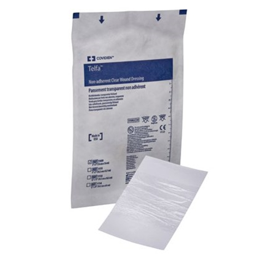 Telfa clear non adherent wound dressing at - Elfa dressing ...