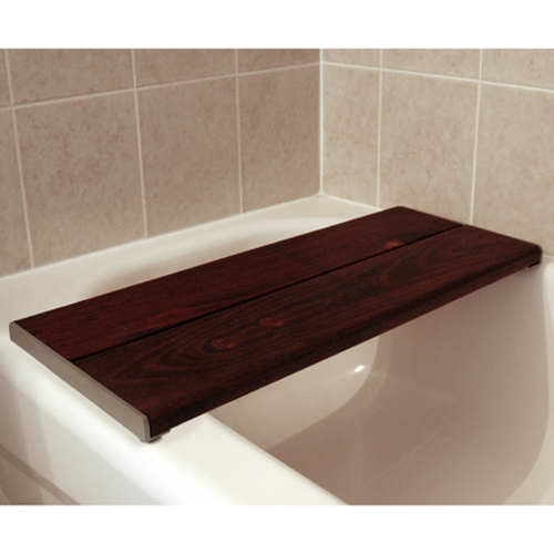 Invisia Brazilian Walnut Bath Bench Free Shipping At