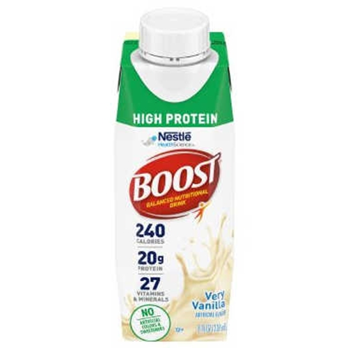 Boost High Protein Nutritional Energy Drink Strawberry 6: Nestle Nutrition Boost High Protein