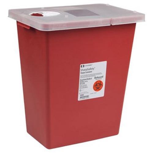 SharpSafety Large Volume Sharps Container