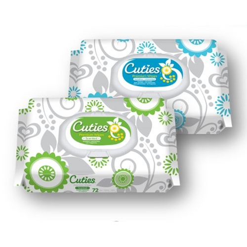 Cuties Premium Baby Wipes