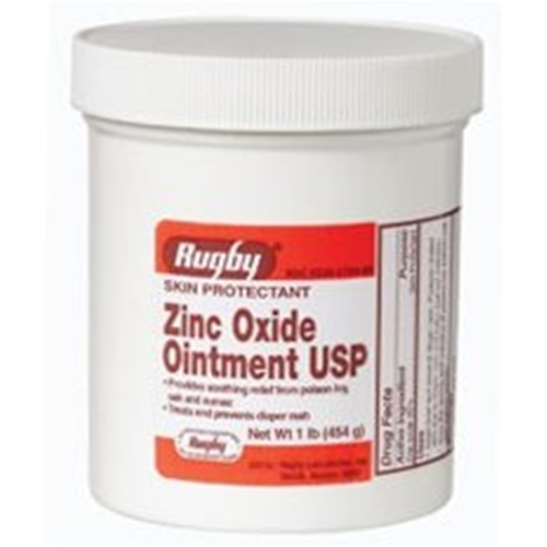 Rugby Zinc Oxide Ointment Usp At Healthykin Com