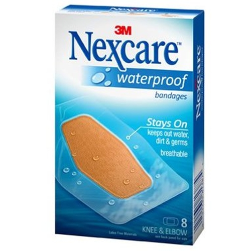 Nexcare Waterproof Clear Knee Amp Elbow Bandages At
