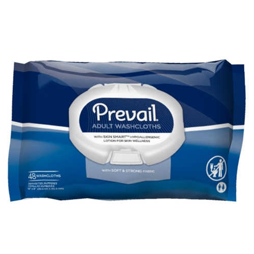 Prevail Disposable Adult Washcloths