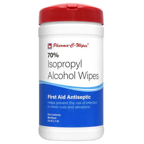 Pharma-C-Wipes 70% Isopropyl Alcohol Wipes