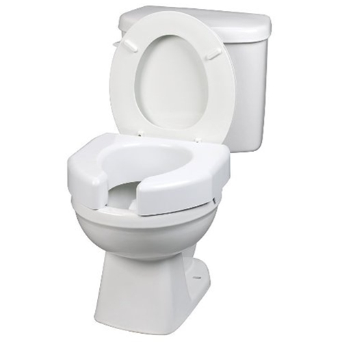 Ableware Open Front Elevated Toilet Seat At Healthykin Com