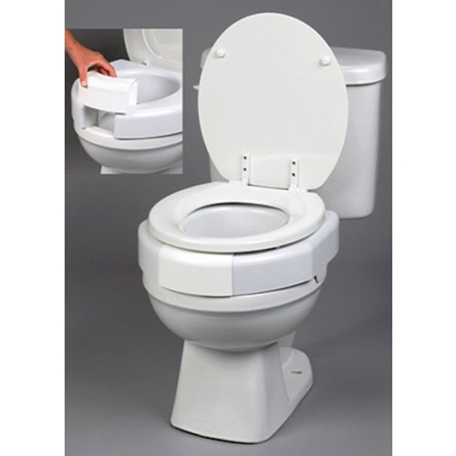 Ableware Secure Bolt Elevated Toilet Seat At Healthykin Com